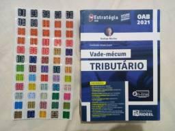 Vade Mecum tributário (2021) OAB Rodrigo Martins + adesivos Marca Fácil (tributário)