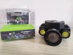 Título do anúncio: Lanterna Para Bike Recarregável Ecooda EC-6166