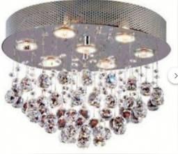 Título do anúncio: lustre cristal pra sala (decoração