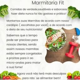 Título do anúncio: Marmitas saudáveis.