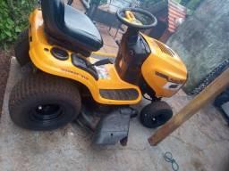 Trator cortador de grama poulan pro 19.5h42