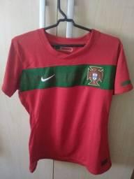 Camisa Feminina Original   Portugal #M