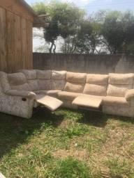 Título do anúncio: Vendo sofa de canto 5 lugares