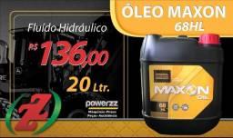 Óleo 68 HL Maxon Fluído Hidráulico 20 litros
