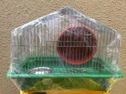 Gaiola para Hamster com Comedouro