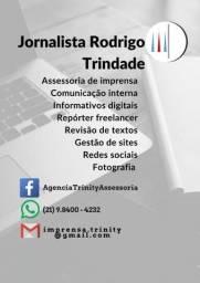 Jornalista para serviços de comunicação, redação, revisão e gestão de sites/redes sociais