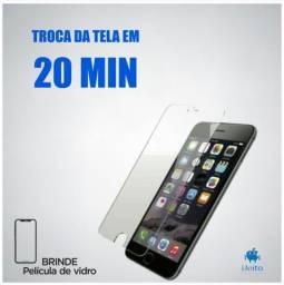 Display (Tela) iPhone - Troca em até 20 minutos. (6 Meses de Garantia)