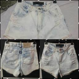 6c20fee252a8 Shorts lady rock nova cintura alta tam 38 valor - 50,00