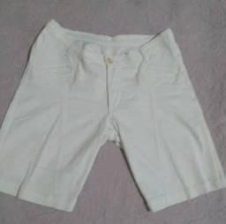 Short feminina branca Tam 42