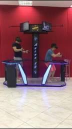 Arena de realidade virtual