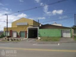 Vende-se Barracão Industrial + Casa no Jardim Paulista - Campina Grande do Sul
