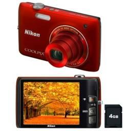 Câmera Digital Nikon S4100