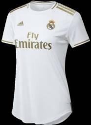 Camisa Feminino Real Madrid Home 2019/2020 Pronta Entrega