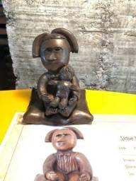 Escultura/Estátua de Bronze - Inos Corradin - Com certificado