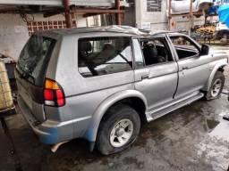 Sucata Pajero Sport 3.0 V6 Gasolina 2000