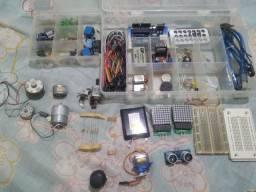 Arduino e componentes Eletrônicos