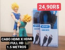 Cabo HDMi x HDMi 1,5 Metros