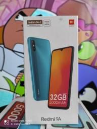 Redmi 9A da Xiaomi..Alto nível! NOVO LACRADO COM GARANTIA
