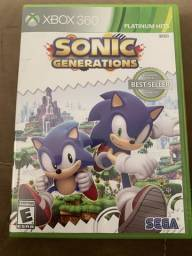 Jogo Sonic Generations XBOX 360 comprar usado  Brasilia
