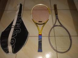 Raquetes de tênis Wilson, com bolsa para carregar as raquetes