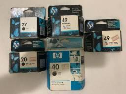 Cartuchos HP Preto/Colorido Original Para HP Deskjet