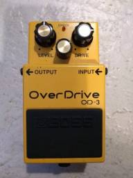 Pedal Boss OverDrive Od-3-Em perfeito estado! Na caixa!
