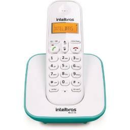 Telefone sem fio intelbras - ts3110 - novo na caixa com nota
