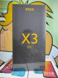 Pocophone X3 128 da Xiaomi..Alto nível! NOVO LACRADO COM GARANTIA