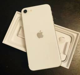 Iphone Se 64gb Branco Modelo 2020 novo lacrado 1 ano de garantia apple