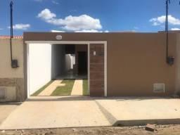 Casa 2 quartos no Novo Ancuri, 2 banheiros, sala, coz, quintal, itbi e registro grátis