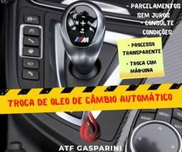 Troca de óleo de câmbio automático