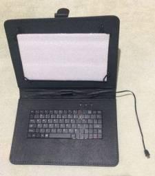 Case+Teclado para Tablet 9 e 10 pol
