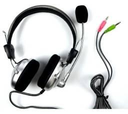 Fone De Ouvido Headset Gamer Para Pc Sm-301m Estúdio