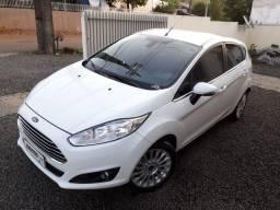 Ford \ New Fiesta 1.6 Flex ( Aut ) Titanium / Top de Linha / Baixo Km / Ano 2016