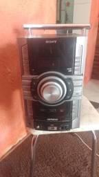 Cabeça de som Sony, não está ligando.
