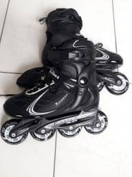 Roller  patins  semi novo