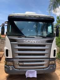 Scania G380 + carreta Guerra Ls 2011