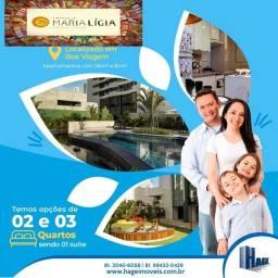 Ed Maria Ligia Queiroz Galvão , 2 e 3 qts/2 vagas em Boa viagem/