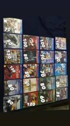 Vendo jogos de ps4, Xbox one e 360 novinhos, aceito cartão