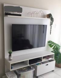 Painel para TV branco Tok&Stok com gavetas