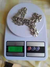 Corrente 60 cm prata original *  vendo ou troco