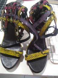 Sandália gladiadora datelli