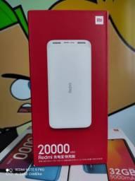 Bateria Externa gigante 20.000 mAh da Xiaomi..Alto nível! NOVO LACRADO COM GARANTIA