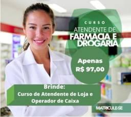 Título do anúncio: Curso de farmácia