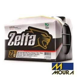 Bateria Automotiva Moura Zetta Z60D 60 Ah 1 ano e 6 meses de Garantia