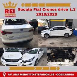 Título do anúncio: Sucata Fiat Cronos drive 1.3 2019/2020
