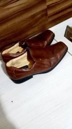Sapato social n39 40 rafarillo de couro