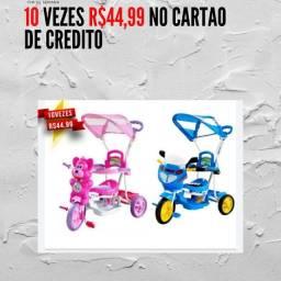 Título do anúncio: triciclo para criança 10 vezes R$44,99 no cartao  e no dinheiro vindo busca tem desconto
