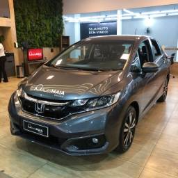 Honda Fit 1.5 EXL Único Dono Completo com Ar Cond. Digital!!