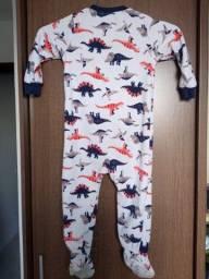 Título do anúncio: Kit c/ 2 macacões em fleece - Carter's / Tam 24 meses